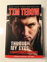 New Book. Tim Tebow - Through My Eyes Great Deal with free shipping