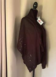 Womens Black, Bordeaux Wrap New with Tags. One size fits most. FREE SHIPPING Womens Black, Bordeaux Wrap New with Tags. One size fits most.