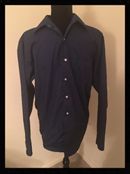 Bergamo New York, Navy Blue Boys Button Down Shirt, Boys Size 14 to 14 1/2, Free Shipping Bergamo New York, Navy Blue Boys Button Down Shirt, Boys Size 14 to 14 1/2