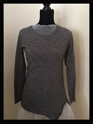 Ann Taylor Grey Sweater Size Womens Small  FREE SHIPPING Ann Taylor Grey Sweater Size Womens Small