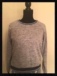 Forever 21 Grey Womens Sweatshirt Size: Large with FREE SHIPPING Forever 21 Grey Womens Sweatshirt Size: Large