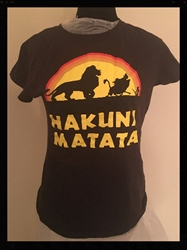 Fun! Hakuna T Shirt, Juniors size Medium FREE SHIPPING Fun! Hakuna T Shirt, Juniors size Medium
