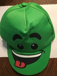 Green Fun Face Hat   Green Fun Face Hat