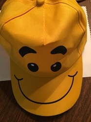 Yellow Fun Face Hat