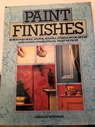 Paint Finish Book by Charles Hemming Preowned, good condition, great deal ! free shipping