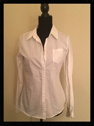 Pretty White Blouse Justice Girls Size XXL Free Shipping Pretty White Blouse Justice Girls Size XXL